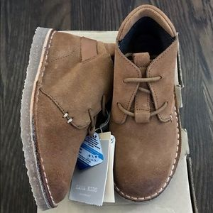 Zara baby boy camel suede lace up boot size 9